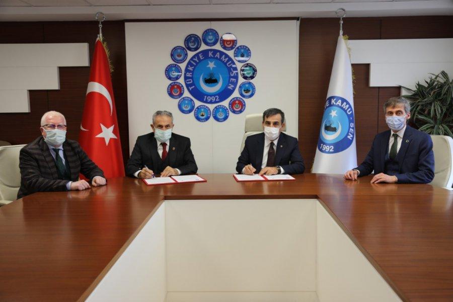 COOPERATION PROTOCOL IN EDUCATION SIGNED BETWEEN NISANTASI UNIVERSITY AND TURKEY KAMU-SEN