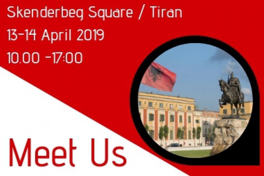 Let's meet in Tirane - Albania