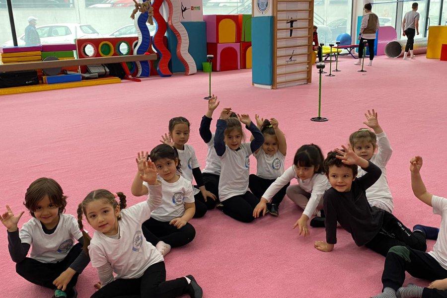 Marmara Akademi Cimnastik Kulübünde Performans Ölçümleri Gerçekleştirildi