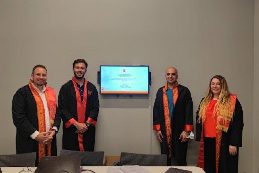 Nişantaşı Üniversitesi Lisansüstü Eğitim Enstitüsü öğrencimiz Erdem ÖZTÜRK, İşletme Yönetimi Anabilim Dalından tezini başarıyla sunarak mezun olmuştur.