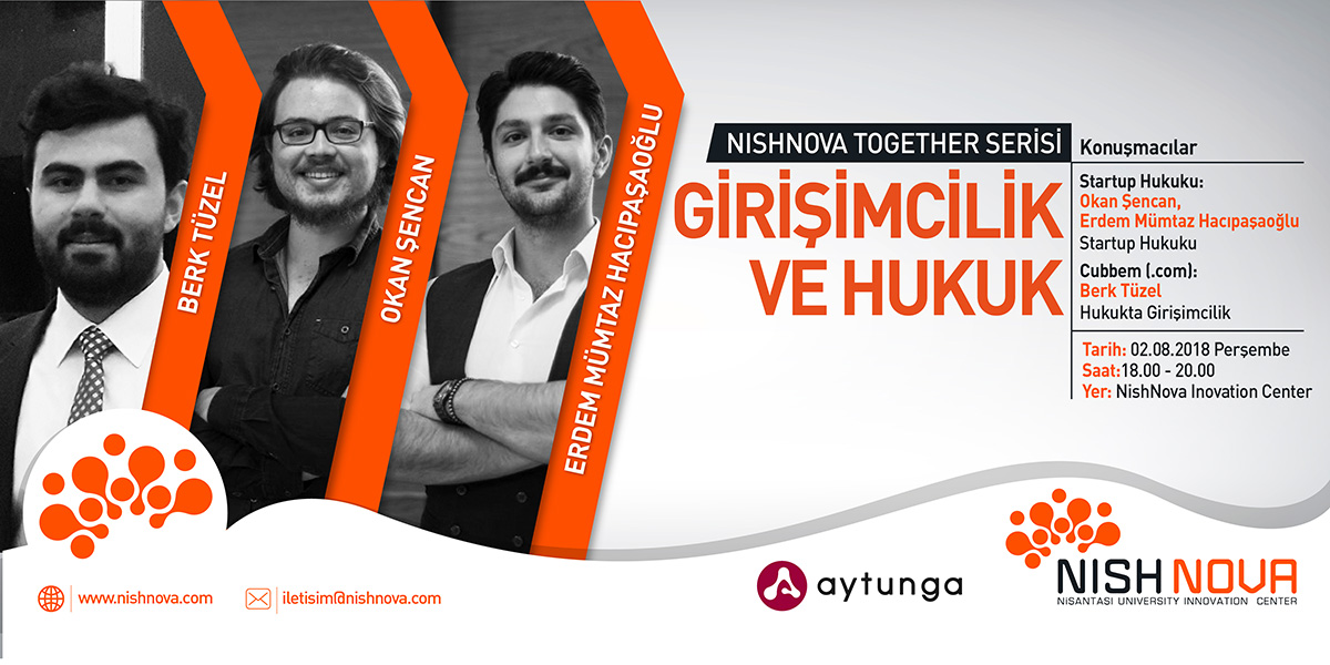 Nishnova Together Serisinde Bu Hafta Girişimcilik Ve Hukuk